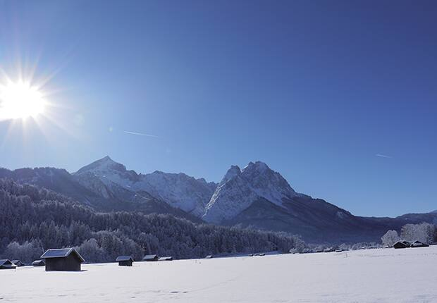 Loipe in Garmisch-Partenkirchen