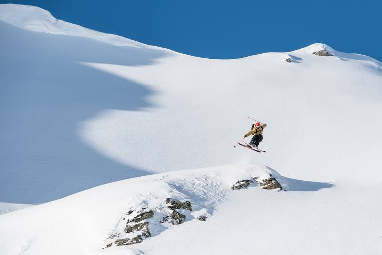 Freeriden in Silvretta Montafon, Vorarlberg