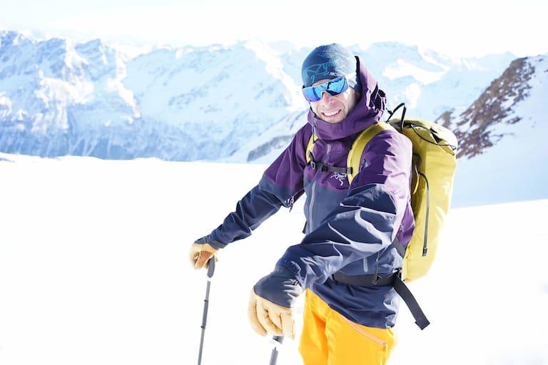 Skitouren sind Paul Mairs große Leidenschaft: Die Suche nach einer guten Linie mit feinem Schnee begeistert ihn immer wieder aufs Neue.