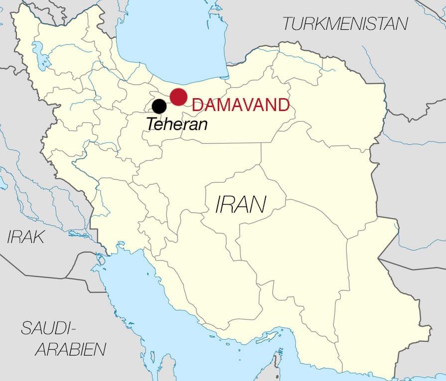 Map Iran