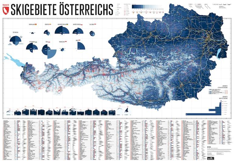 Marmota Maps Österreichs Skigebiete