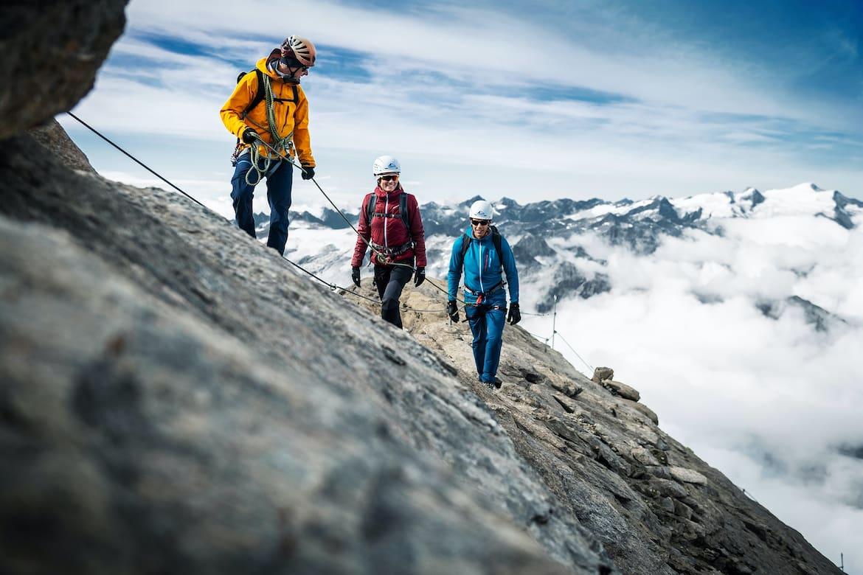 Für viele der erste Dreitausender: das Kitzsteinhorn