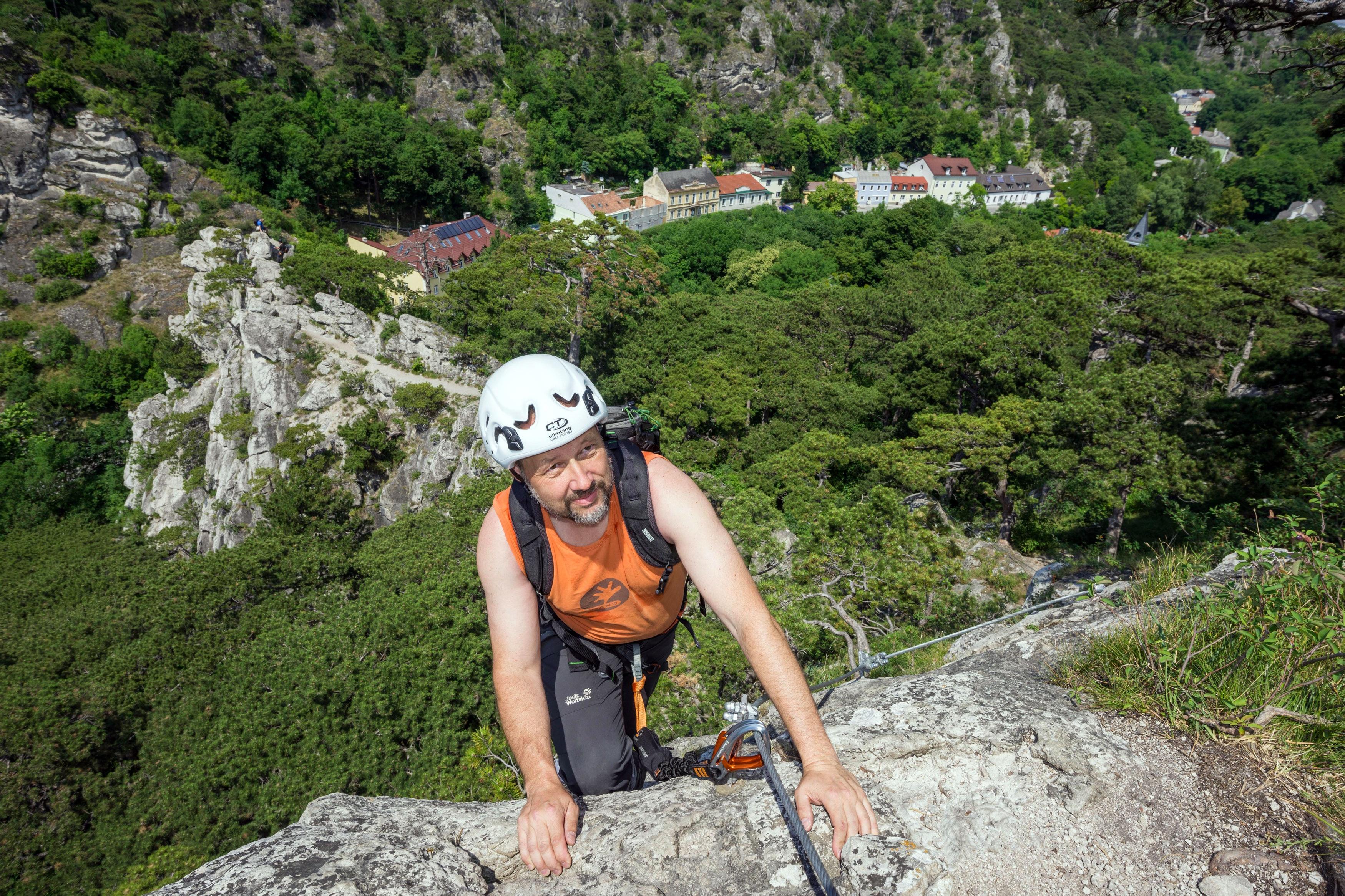 Klettersteig Wachau : Klettersteige für anfänger in den alpen bergwelten