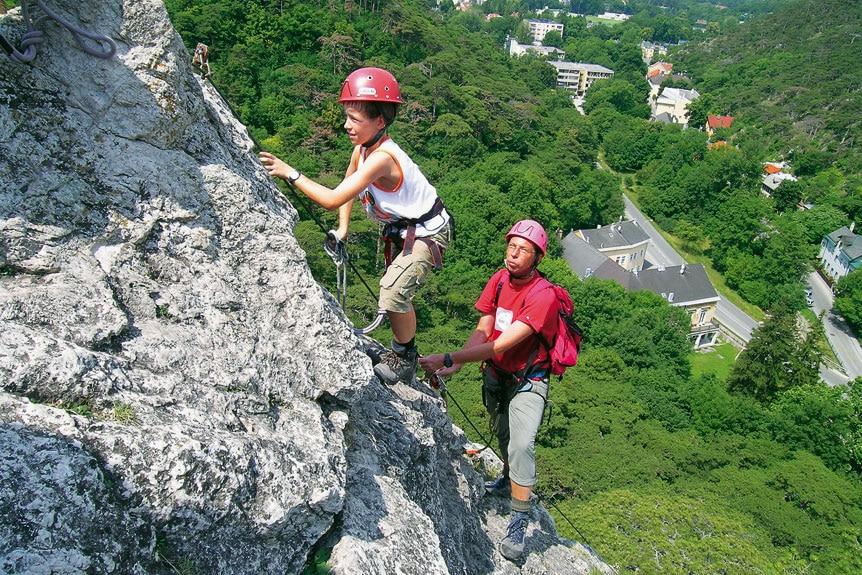 Klettersteig Traunstein : 7 klettersteige für anfänger in den alpen bergwelten