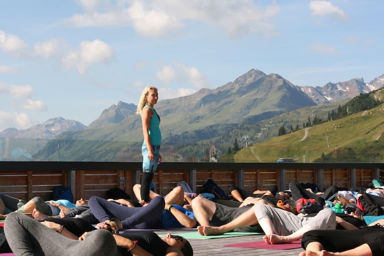 Mountain Yoga Festival St. Anton