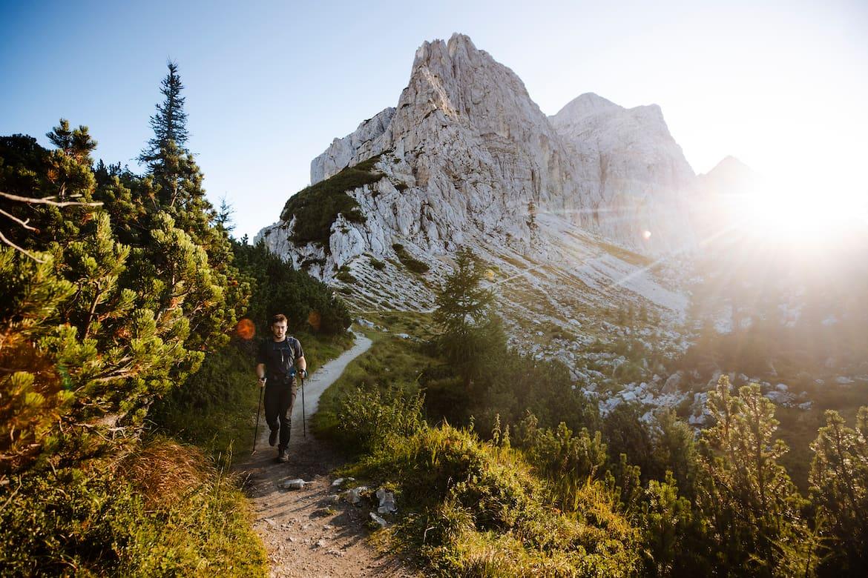 Fernwandern zwischen mächtigen Berggipfeln und unberührter Natur – der Juliana Trail.
