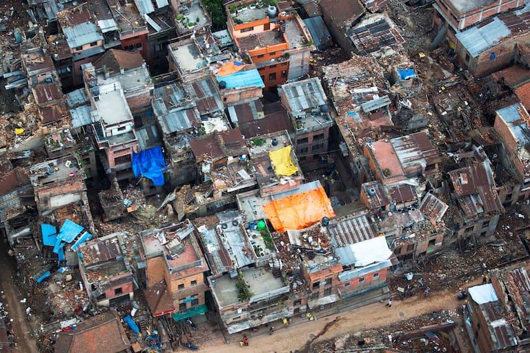 Nepal: Hilfe vor dem großen Regen
