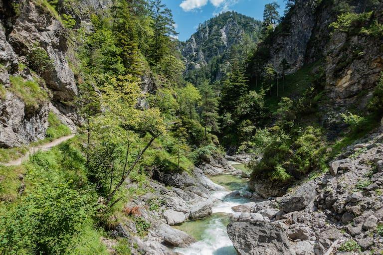 Ötschergräben in den Ybbstaler Alpen in Niederösterreich