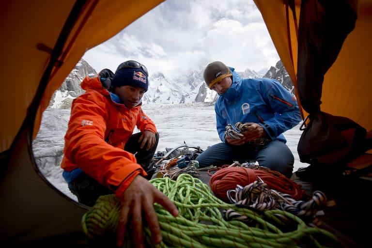 David Lama und Peter Ortner