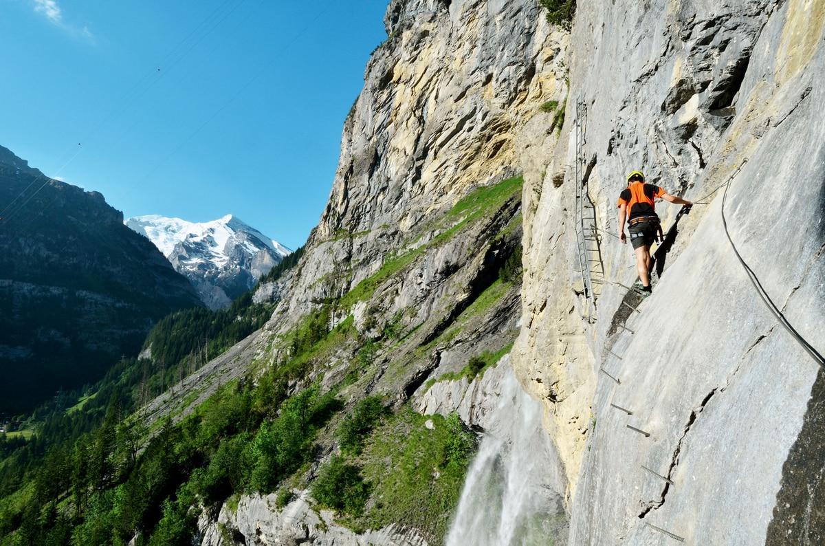Klettersteig Graubünden : Check: der allmenalp klettersteig c d bergwelten