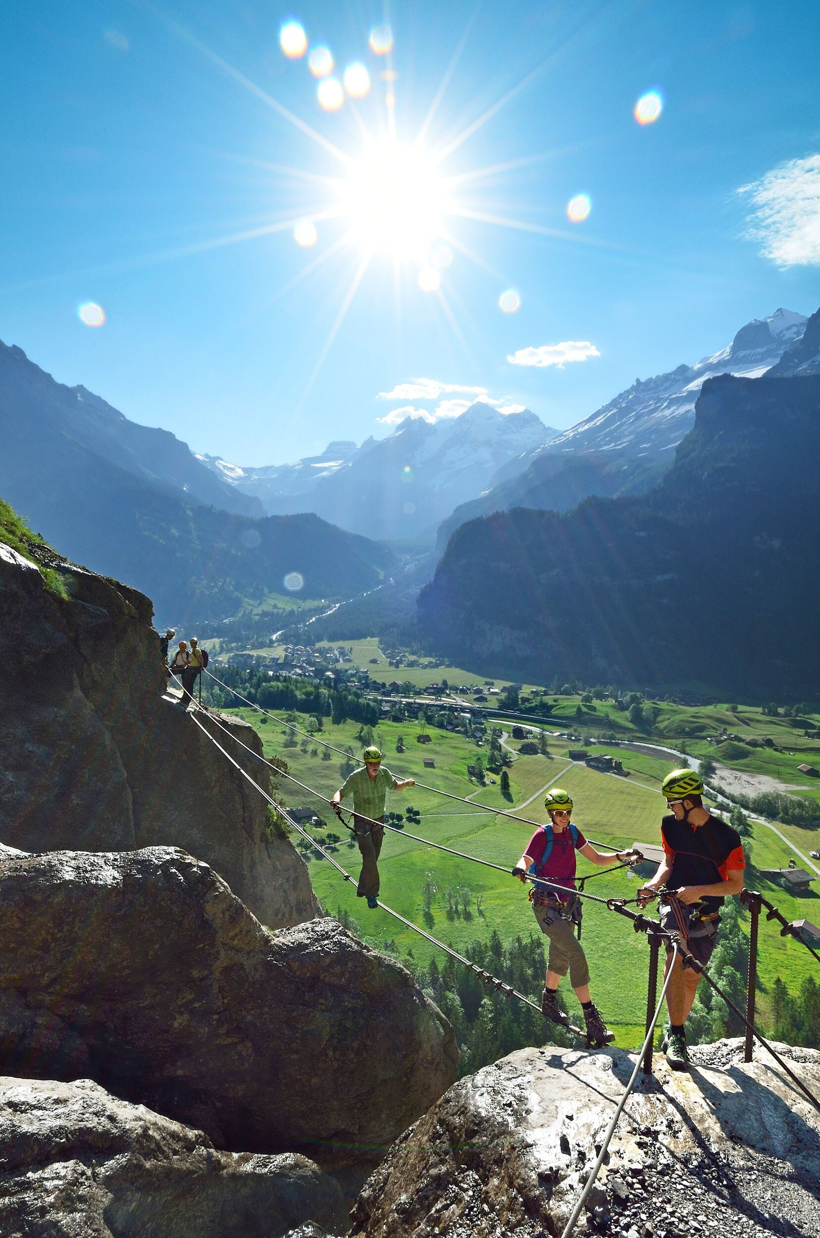 Klettersteig Allmenalp : Check der allmenalp klettersteig c d bergwelten