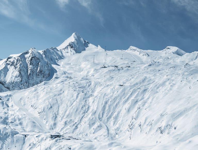 Der Gipfel des Salzburger Kitzsteinhorn (3.203 m) zählte zu den beliebtesten Touren im November 2019