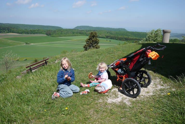 Kinderwagen Wanderungen um Nürnberg
