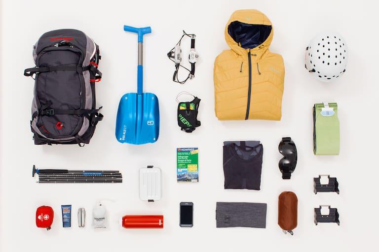 Packliste sichere Skitour