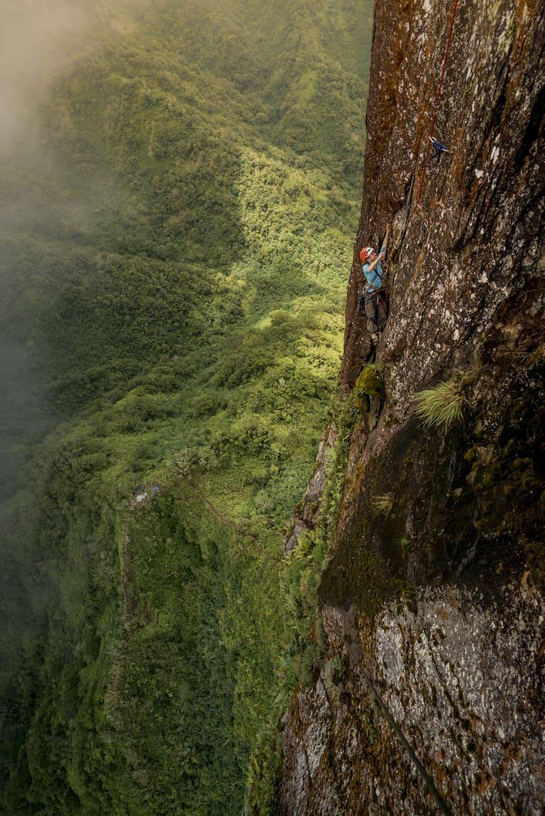 Poumaka: Kletter-Expedition in den französisch-polynesischen Dschungel