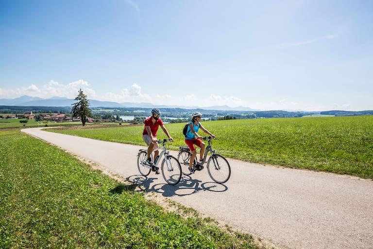 Radeln durch den Chiemgau