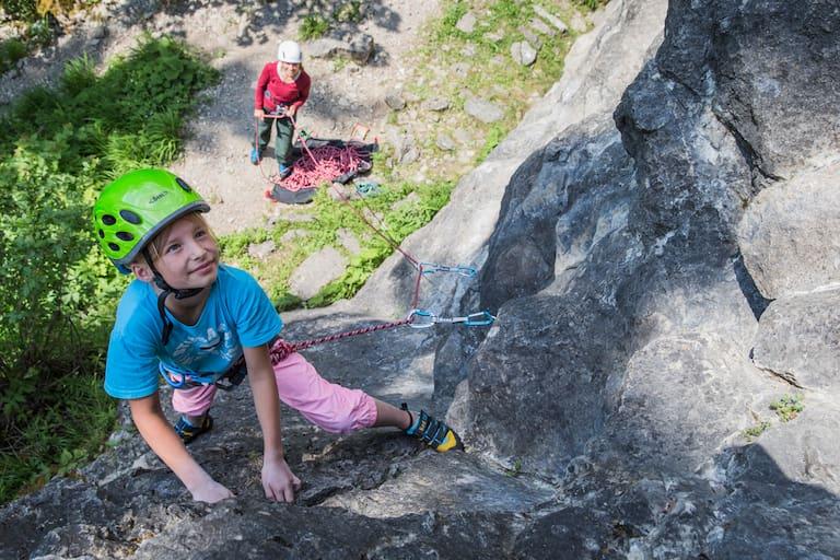 Kinder Kletter-Tipps
