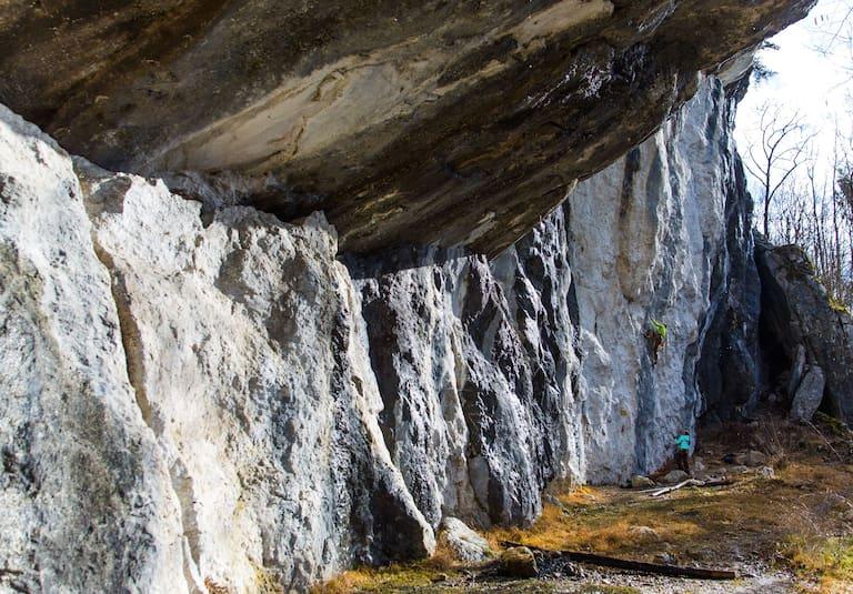 Anspruchsvolle Kletterrouten in Rettenbach