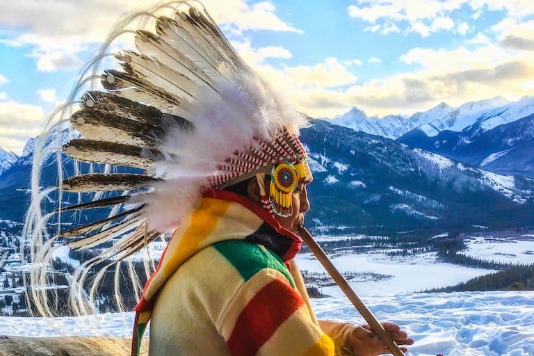 Ureinwohner Rocky Mountains