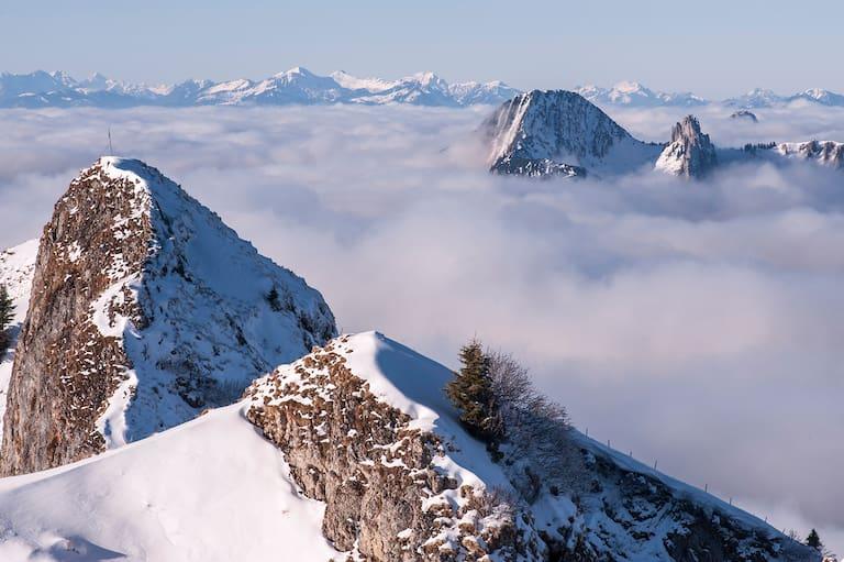 Rotwand im Mangfallgebirge