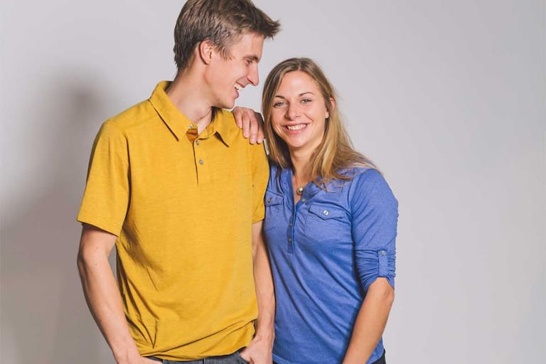 Katha Saurwein und Jorg Verhoeven