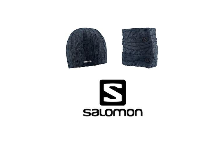Salomon - Set Beanie & Neck Warmer