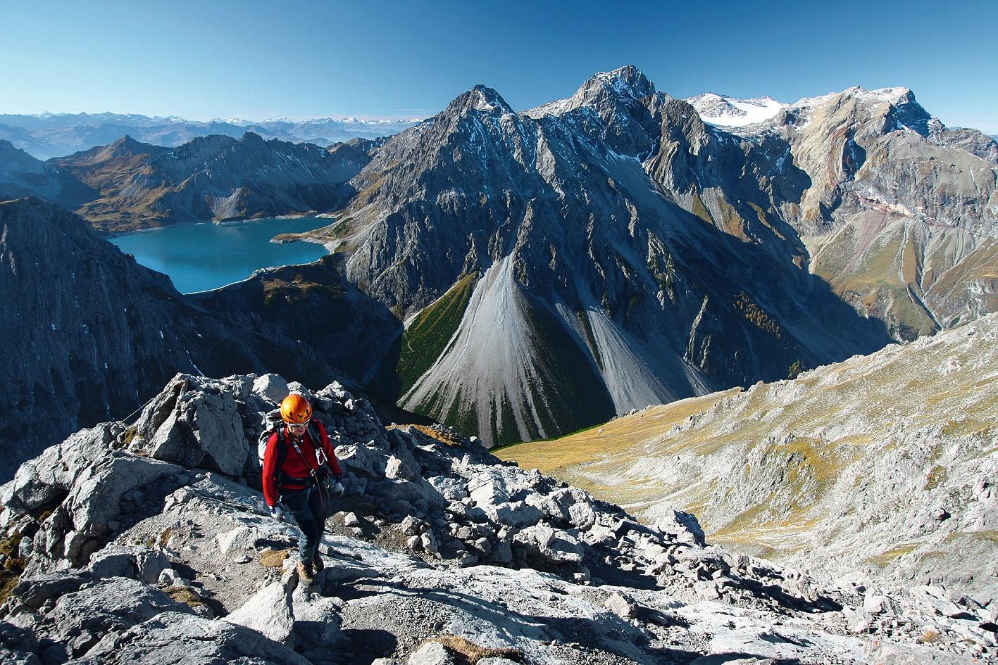 Klettersteig Lünersee : Der schönsten klettersteige in Österreich bergwelten
