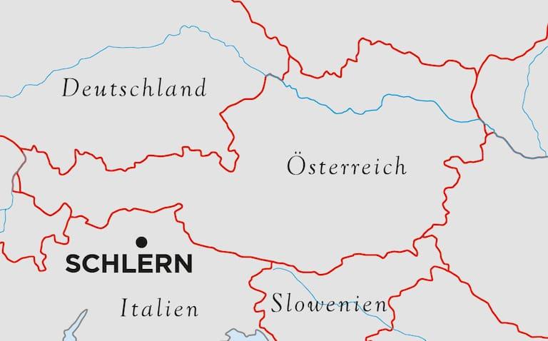 Schlern Südtirol Karte