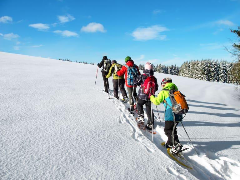 Schneeschuhwandern auf den Ochsenkopf