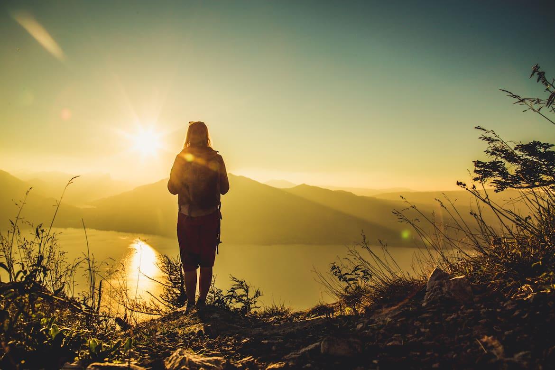 Angekommen am Gipfel - der Ausblick vom Schoberstein