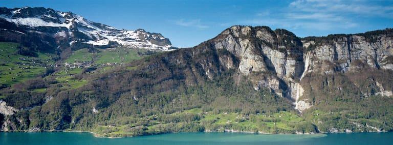 Die Seerenbachfälle im Kanton St. Gallen