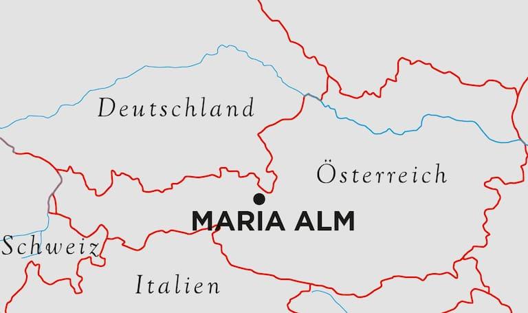 Selbhorn Klettersteig Karte