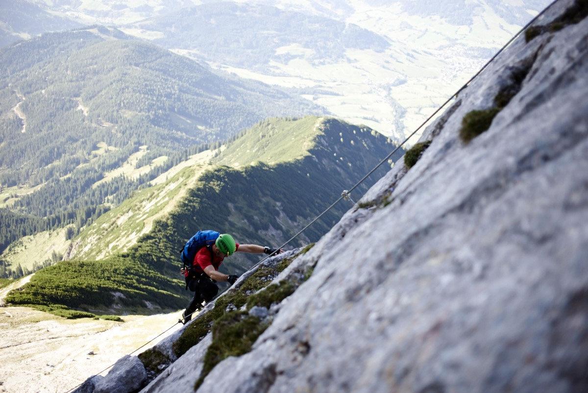Klettersteig Wien Umgebung : Check: der selbhorn klettersteig c d bergwelten