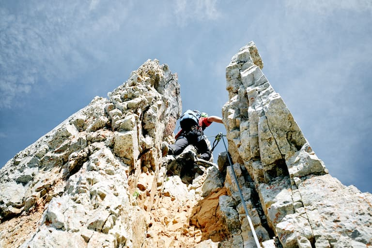 Selbhorn-Klettersteig Rote Rinne