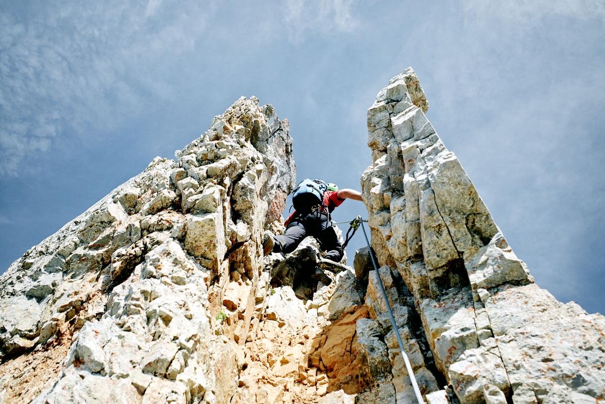 Klettersteig Zell Am See : Check: der selbhorn klettersteig c d bergwelten