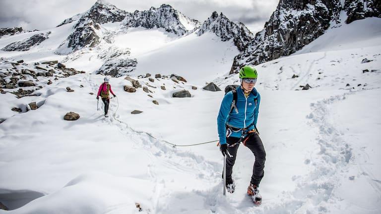 Die VENTO Monte Rosa Hose ist ein wahres Multitalent am Berg.