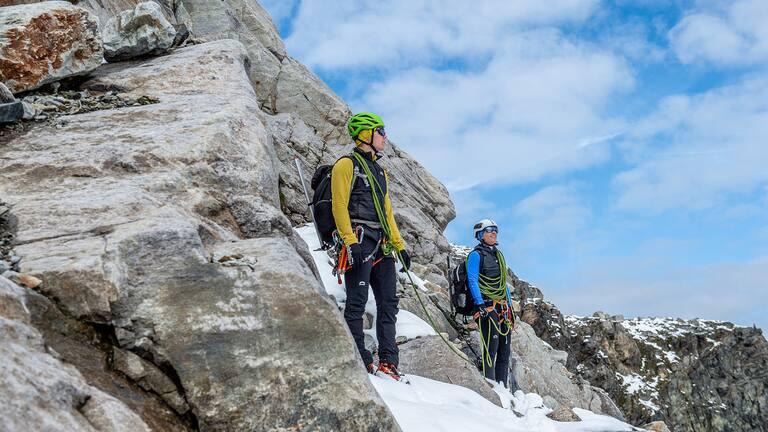 Die VENTO Monte Rosa Hose ist nicht nur schmutzabweisend, sondern auch wasserfest und windfest.