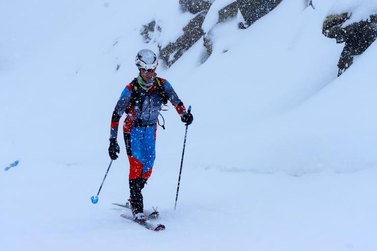 Skitouren-Rennläufer