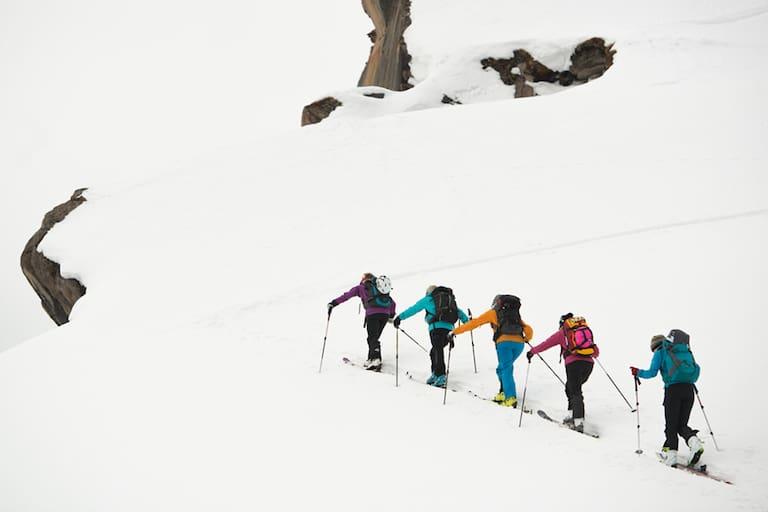 Skitouren Gruppe