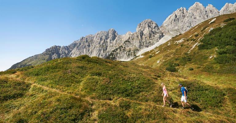 Perfektes Wochenende: Wandern am Wilden Kaiser in Tirol