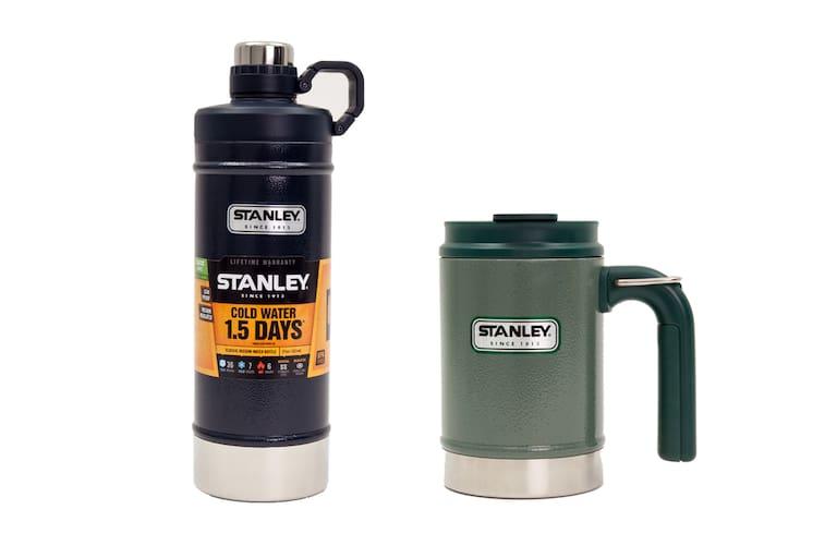 Stanley Classic Vacuum Water Bottle und Stanley Classic Vacuum Camp Mug