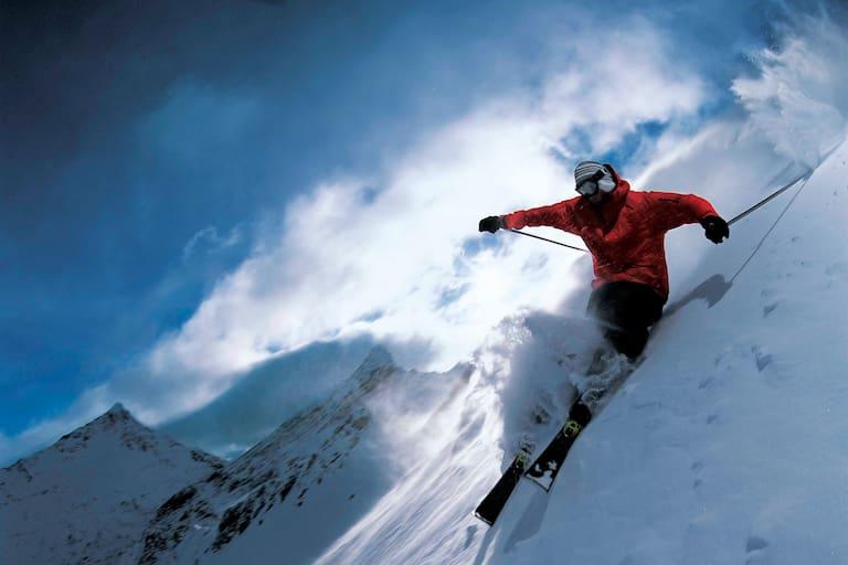 Steilskifahren