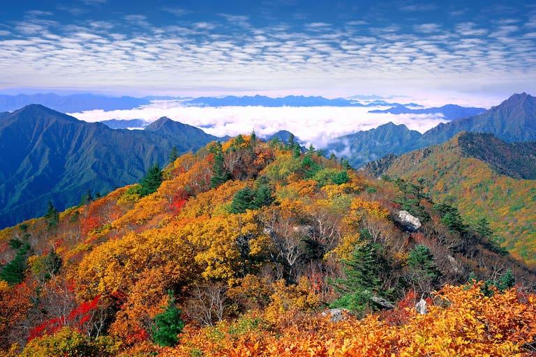 Seoraksan-Nationalpark in Südkorea