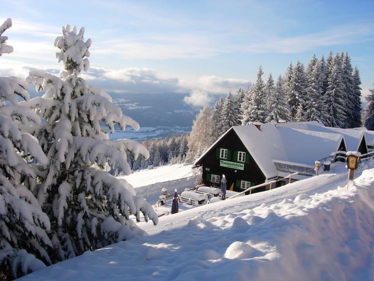 Die Tonnerhütte in der Steiermark