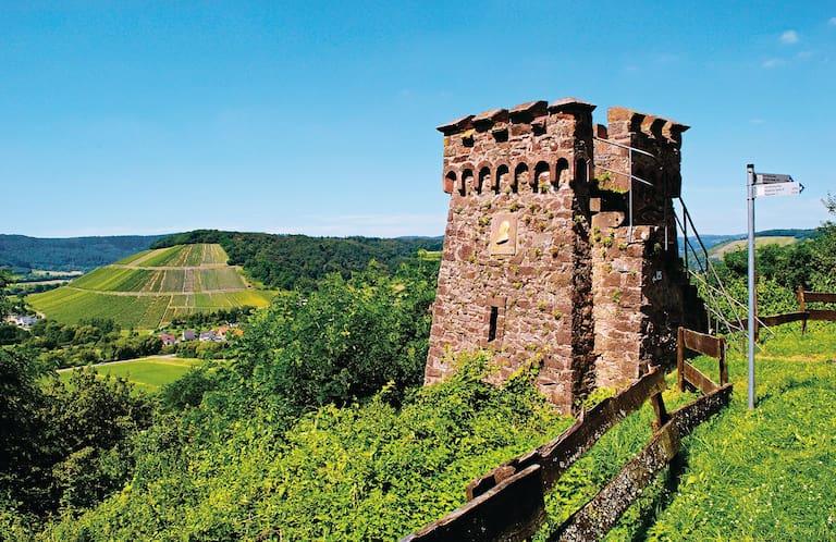 Am Bismarckturm an der Mosel.
