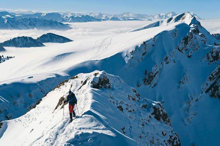 Hochgrat und Rindalphorn, Allgäuer Alpen