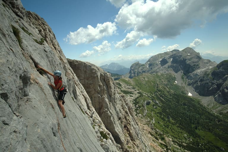 Klettern Karnische Alpen Trogkofel