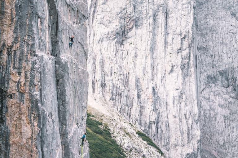 Kletterroute Tschenplatte