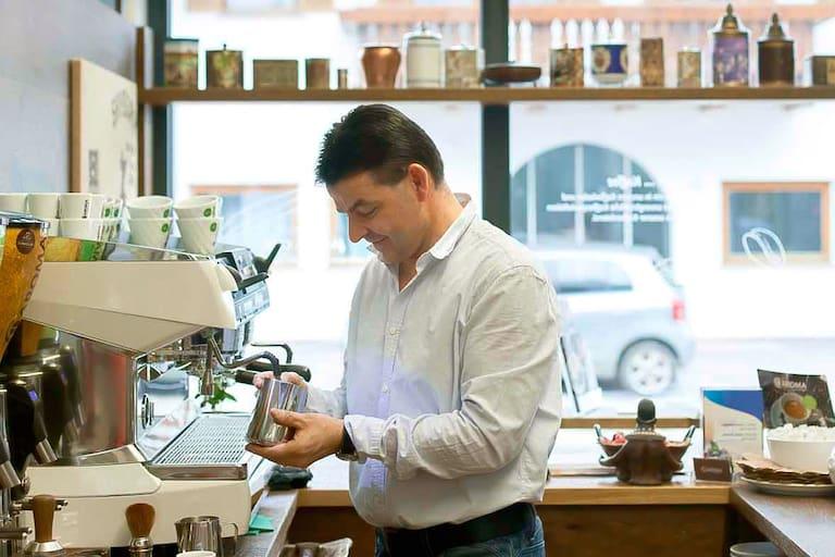 Kaffeesommelier Valentin Hofer