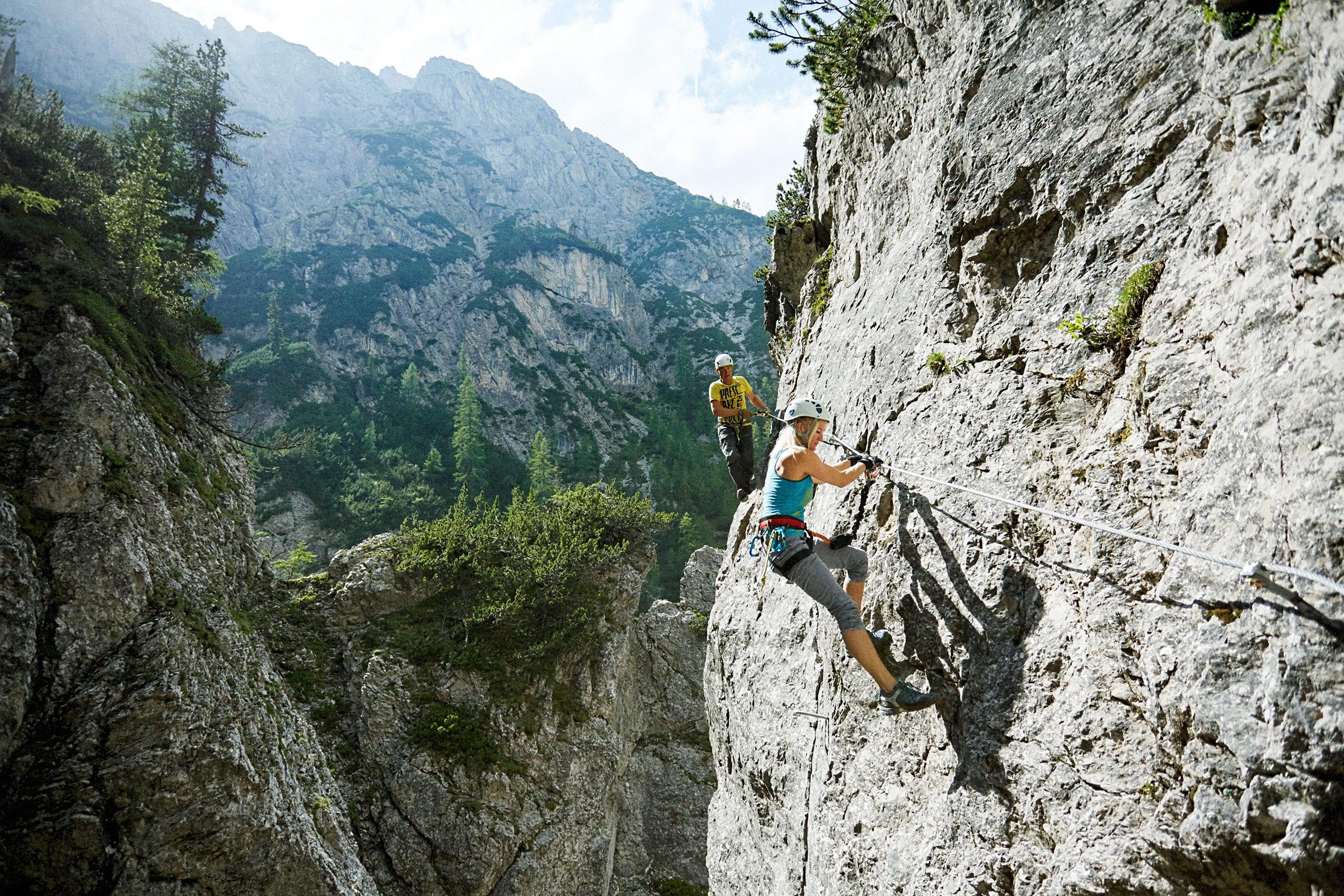 Klettersteig Engstligenalp : Klettersteig luzern brunnistöckli tourismus